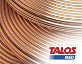 Halcor Medical Copper Tube 8.00*1.00  (Straight)