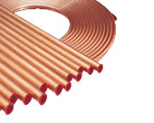 HALCOR PANCAKE COIL COPPER TUBE. 3/16